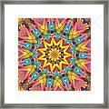 Kaleidoscope Series Number 7 Framed Print