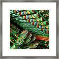 Korean Kolors  Framed Print