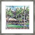 Kukio Estate Framed Print