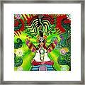 Kundalini Rising And The Tree Of Twelve Fruits Framed Print