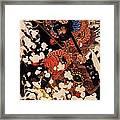 Kyusenpo Sacucho On Black Stallion Framed Print