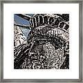 Lady Liberty Framed Print