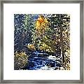Lake Sabrina Creek Framed Print