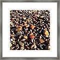 Lake Superior Stones Framed Print
