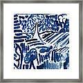Lakes Of Flowing Framed Print