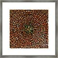 Largest Round Barn Ceiling Framed Print