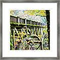 Latourel Creek Bridge Framed Print