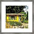 Le Jardin De Vincent Framed Print by Chris Thaxter