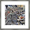Lets Ride Framed Print