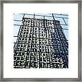 Life On The 32nd Floor Framed Print