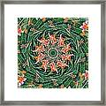 Lilly In Abstract Framed Print