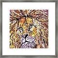 Lion1 Framed Print