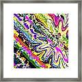 Liquid Clam Framed Print