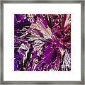 Liquid Crystalline Dna Framed Print