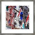 Little Italy In Color Framed Print