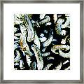 Locked Up In Chains Framed Print