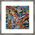 London Olympics Inspired Framed Print