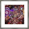 Lost In The Fire Framed Print
