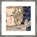 Lovely Mermaid Framed Print