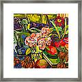 Lush Land With Wizard Framed Print