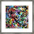 Magic  Colors  Sculpture  Nineteen  Ninety  Nine Framed Print by Carl Deaville