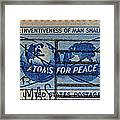 Mail Early For Christmas And Peace Framed Print