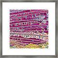 Malathion Framed Print