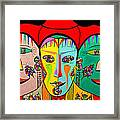 Man In Reverse II Framed Print