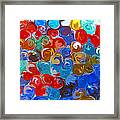 Marble Collection Abstract Framed Print