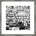 Marble Work In India Framed Print
