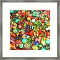Marbles - Painterly Framed Print