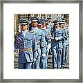Marching Guards Framed Print