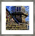 Maritime Lookout Acadia Maine Framed Print