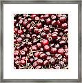 Market Cherries Framed Print