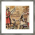 Mary Read And Anne Bonny, 18th Century Framed Print