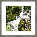 Mclean Falls In The Catlins Framed Print