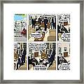 Meeting Gordon Brown Framed Print by Kevin  Marley