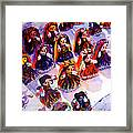 Mexican Dolls Framed Print