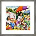 Mexican Marketplace Framed Print