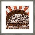 Mezquita Cathedral Religious Carving Framed Print