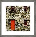Mill House Over Stream Framed Print