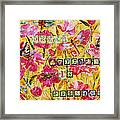 Mixed Media - Dream Anything Is Possible Framed Print