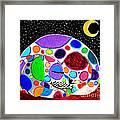 Moon Doggy Framed Print