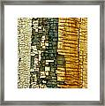 Mosaic Of Time Framed Print