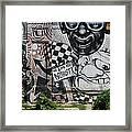 Motor City Graffiti Art Framed Print