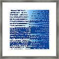 Moveonart Bracefortheshift Framed Print