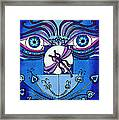 My Soulful Eyes Framed Print