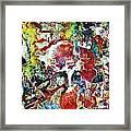 Mystic Rose Framed Print