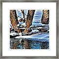 Nature's Icy Abstract No.2 Framed Print