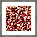 Nectarines - 5d17905 Framed Print by Wingsdomain Art and Photography